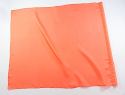 100% Silk Worship Flags Solid Dyed / Soft Rods